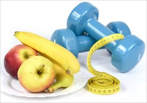 fruit & weights